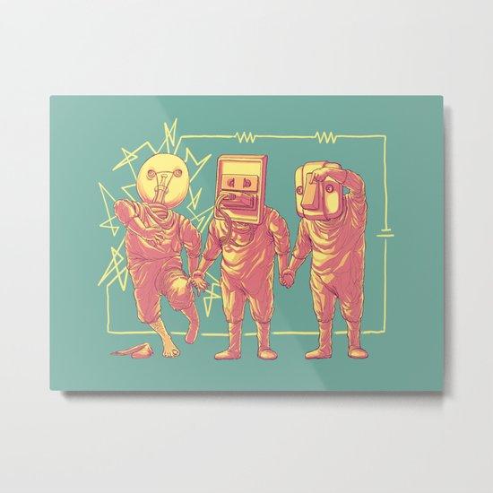 Experimental Idea Metal Print