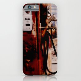 Old Gas Pump iPhone Case