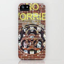NO WORRIES 01 iPhone Case