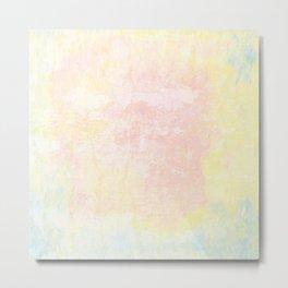 Pale pastel texture Metal Print