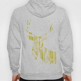 Geometric Yellow Stag Hoody