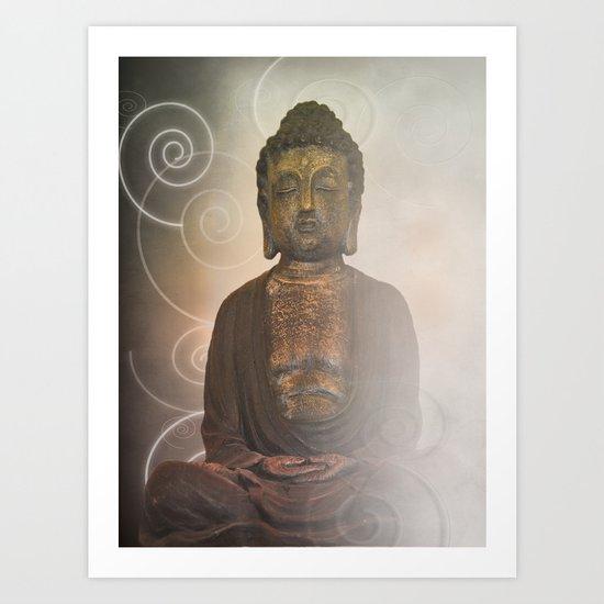 Buddha 201 Art Print