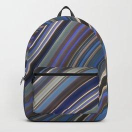Mild Wavy Lines IV Backpack