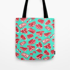 MEAT MARKET, by Frank-Joseph Tote Bag
