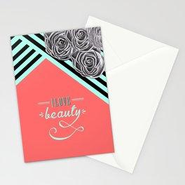 Love Beauty Stationery Cards