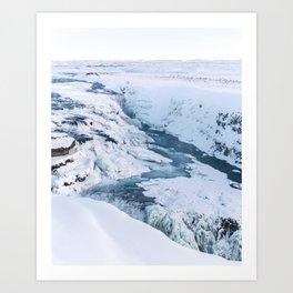Gullfoss - Iceland Art Print