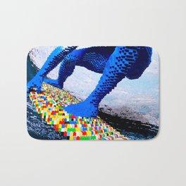 Leggo surfing! Bath Mat