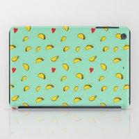 taco iPad Cases featuring Taco Tuesday by creativaty