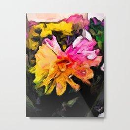 Rainbow Flowers 1 Metal Print