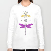 insects Long Sleeve T-shirts featuring Two Insects by Ukko