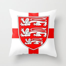 Saint Georges Day Throw Pillow