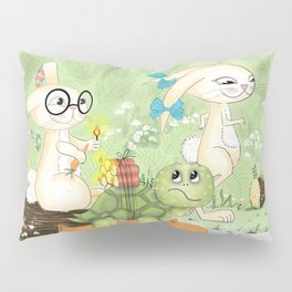 Fast as the rabbit Pillow Sham