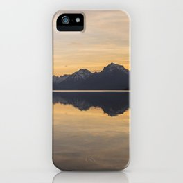 Lake McDonald (Glacier National Park) iPhone Case