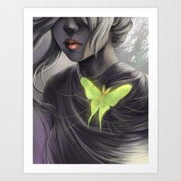 Actia Luna Cordis Art Print