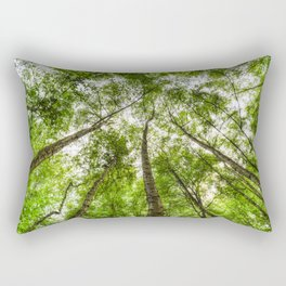 The Ancient Tree Canopy Rectangular Pillow