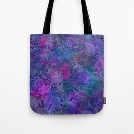 Frozen Leaves 5 Tote Bag