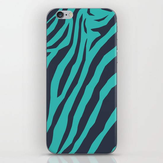 Zebra's Not Dead II iPhone & iPod Skin