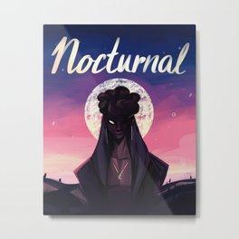 Nocturnal Metal Print