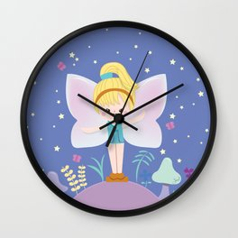 Polly Pocket Fairy 2 Wall Clock