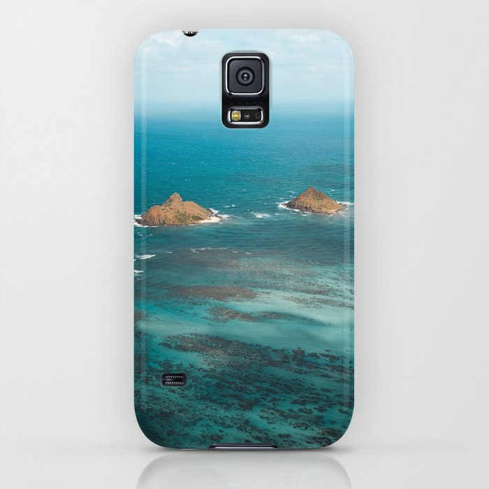 Na Mokulua Islands Off Oahu's Coast IPhone Case By Teapalm