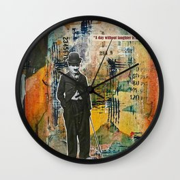 A Day Without Laughter is a Day Wasted Wall Clock
