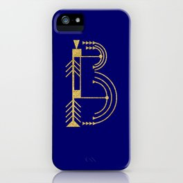 Sacred Geometry Letter B iPhone Case