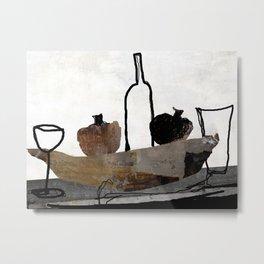 vino Metal Print