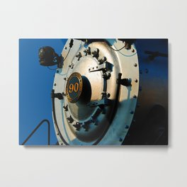 Locomotive nose Metal Print