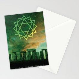 Heart Chakra of the Earth - Stonehenge Stationery Cards