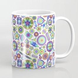 Ernst Haeckel Rainbow Diatom Tossed Coffee Mug