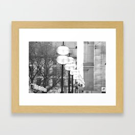 Light in München, Germany Framed Art Print