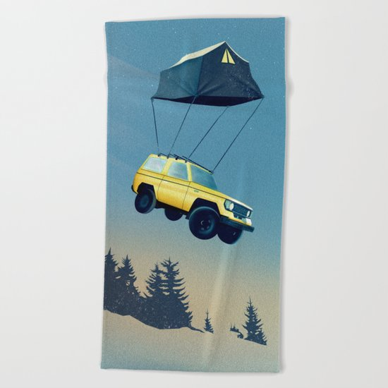 Darling, time to move on... Beach Towel