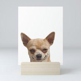 Funny Dog Mini Art Print