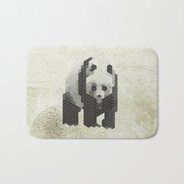 Panda - Species in danger of pixelation Bath Mat