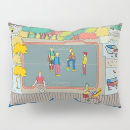 One day in the city - We do the squads? Pillow Sham