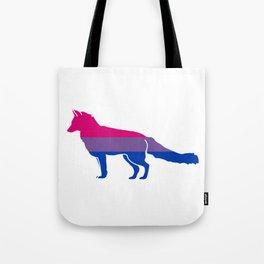 Bi Pride Fox Tote Bag