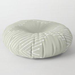 Geo (Linen Sage) Floor Pillow