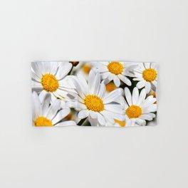 Daisy Flowers 0136 Hand & Bath Towel