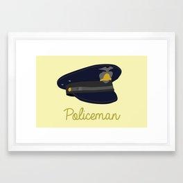 Policeman Framed Art Print