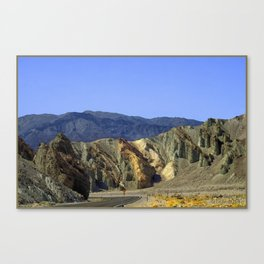 Slow Curve at the Green Mountains. UTAH JD Barrett Photography Canvas Print