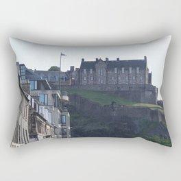 View of Edinburgh Castle from New Town Rectangular Pillow