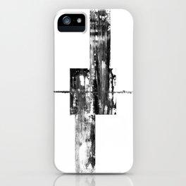 Black Square iPhone Case