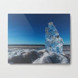 Crystal of the Tide Metal Print