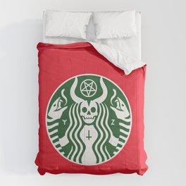 The Red Cup Of Doom Comforters