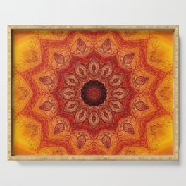 Sacral Fire Serving Tray