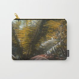Into the Seychellian leaves Carry-All Pouch