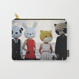 Dapper Animals Sunset Faces Carry-All Pouch