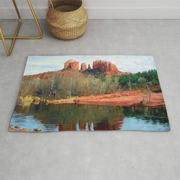 Healing Waters of Cathedral Rock Rug