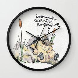 Sexy Lady Wall Clock