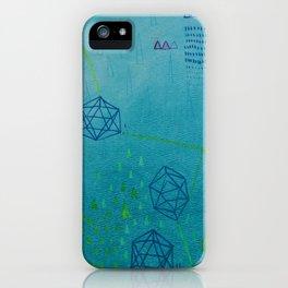 Icosahedron (Water) iPhone Case